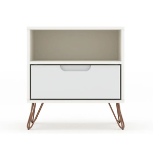 Carson Carrington Bandene Mid-century Modern 1-drawer Wood Nightstand