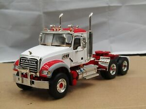 First Gear red/white Mack Granite tractor new no box 1/34