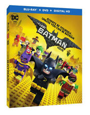 The LEGO Batman Movie (Blu-ray/DVD, 2017, Includes Digital Copy)