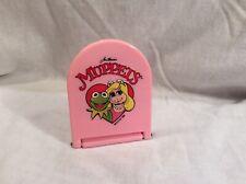 Vintage Muppets Standing Mirror 1990 Kermit Miss Piggy