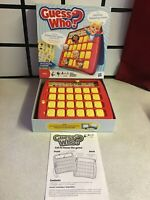 hasbro 2011 Guess Who? Flip and Find Face Board Game , vgc, complete, original