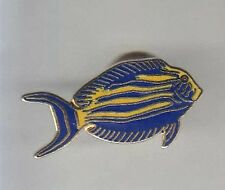 RARE PINS PIN'S .. SPORT PECHE FISHING POISSON FISH AQUARIUM PLONGEE ~AR