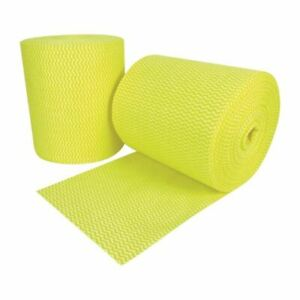 EcoTech Envirowipe Cleaning Cloths - Yellow Rayon Washable 2 Pack