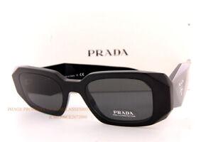Brand New Prada Sunglasses PR 17WS 1AB 5S0 Black/Grey For Women