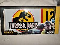 Jurassic Park Nummernschild Film Kino Dennis Nedry Lagacy EditionNEU,OVP,Lizenz