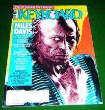 1987 Miles Davis, Prophet 2000 2002 Clinic, Kawai K5 Review, Keyboard Magazine