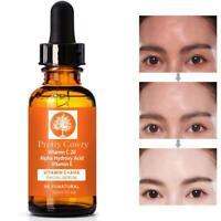 Vitamin C Serum Acid w/ Hyaluronic HA Oz Anti-Aging E Ferulic Pure Organic New S