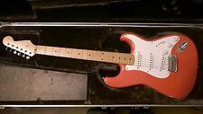 1996 Hank Marvin 50th anniversario firma Giapponese Stratocaster in Fiesta rosso