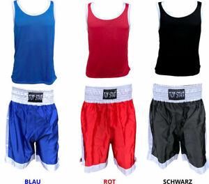 Amateur Boxhose und Hemd | Boxbekleidung | Boxershort | Boxsport Kleidung