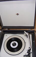 VINTAGE RETRO 1960'S G MARCONI PORTABLE RECORD PLAYER WORKING PAT TESTED DEMO