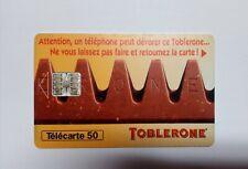 Cartes téléphone TOBLERONE