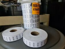 Labels A0022 -Use By-20,000 Price Gun Labels