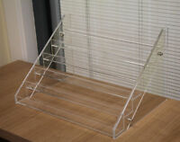 Clear Acrylic 6-tier Tattoo Ink Nail Polish Display Stand Rack Organizer Holder