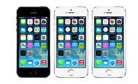 "Original Unlocked Apple iPhone 5S - iOS 32GB 4.0"" 4G LTE Black Silver Golden"