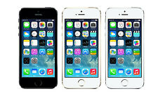 Original Unlocked Apple iPhone 5S - iOS 16GB 4G LTE Black/Silver/Golden 4.0""
