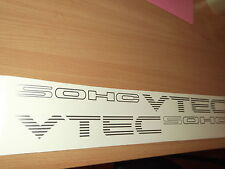 Civic SOHC Vtec Replacement Side decals stickers