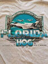 Florida HOG Rally t-shirt 2010 new L