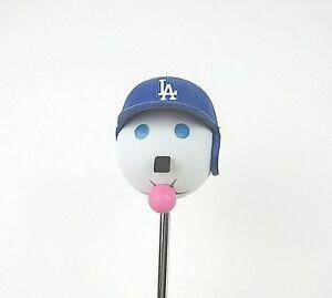 Los Angeles Dodgers Helmet Jack in The Box Restaurant Antenna Ball