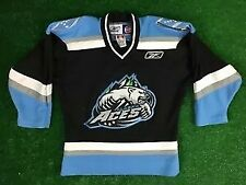 Alaska Aces CCM Reebok ECHL Hockey Jersey Made In Canada Youth S/M Polar Bear