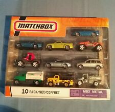 Matchbox 10 Pack MBX Metal #B5610