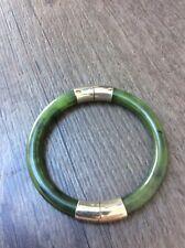 Superb Bracelet Antique Bangle Jade Jadeite Green Bangle