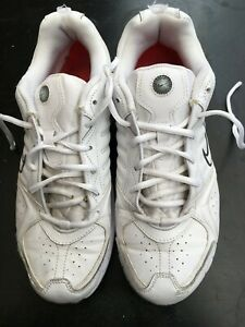 NIKE MENS UK 8.5 EU 43 VINTAGE WHITE TENNIS TRAINERS CASUAL RUNNING SHOES