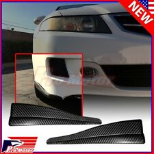 2 x Front Rear Carbon Fiber Bumper Corner Lip Side Scratch Protector Strap Guard (Fits: Scion xA)