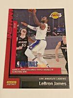 2019-20 Panini Instant Basketball Los Angeles Lakers Set #26 - LeBron James