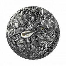 5 Dollar Niue 2021 - 2 OZ Four Heavenly Kings - Chiguotian 2021 AF
