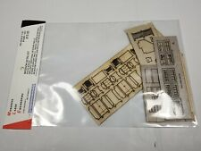 HO Monashee Laser Engineering Canadian Pacific CPR #3 Section House Detail Kit
