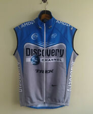 Discovery Channel, Cycling Vest by Nike Mens Size: L