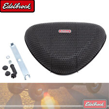 "Edelbrock 10023 Pro-Flo Triangle Black Mesh Re-Usable Air Cleaner - 5.125"" Neck"