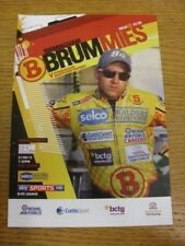 21/08/2013 Speedway Programme: Birmingham v Peterborough United (4 Pages, result