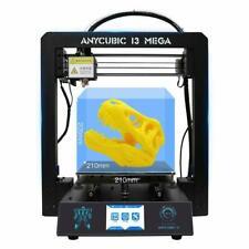 """Anycubic i3 Mega 3D Drucker Druckgröße Ultrabase 3.5"""" TFT 210X210X205mm 1KG PLA"""