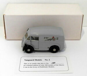 Pathfinder Vanguard 1/43 Scale VAN2 - Morris J Type Van 1 Of 200 Grey PFM Models