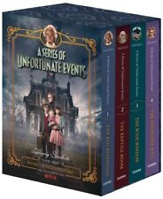 A Series of Unfortunate Events #1-4 Netflix Tie-in Box Set [New Book] Boxed Se