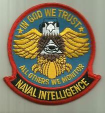 Naval Intelligence U.S.Navy Patch Information Warefare Sailor Soldier Spy Usa