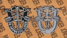 SPECIAL FORCES AIRBORNE SFGA DUI crest flash patch 2 inch