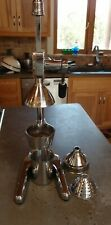 Citrus juicer chrome & stainless steel manual hand press heavy duty extractor