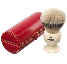 Kent bk12 Pennello Da Barba Puro Tasso Silver Tip Avorio MANIGLIA LUSSO Extra Large