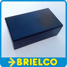 CAJA DE PLASTICO ABS PARA MONTAJES ELECTRONICOS CA802N NEGRA 105X59X36MM BD9743