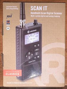 RadioShack PRO-668 Digital Trunking Scanner 2000668 iScan NEVER USED PLEASE READ