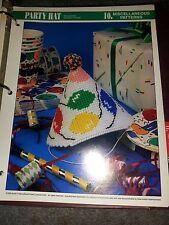 Plastic Canvas Party Hat pattern