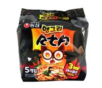Korean Hot Spicy Instant Noodle NONGSHIM ANGRY NEOGURI RTA Ramen 5pack Set