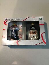 be6324caf NEW YORK GIANTS NFL SANTA PLUS STOCKING CHRISTMAS ORNAMENTS FREE SHIPPING