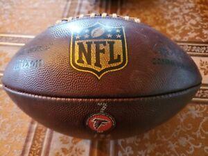 NFL Duke Wilson Football Game Used Ball Atlanta Falcons 2018