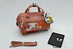 Disney Mickey Diaper Bag 2020 Shoulder Bag Handbag Pink New