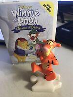 Disney Winnie The Pooh Seasons of Giving McDonald's Tigger Figure 2000 in Box
