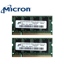MICRON 512MB 2x256MB PC2100S DDR1- 266 MHz 200pin SODIMM - MEMORIA NOTEBOOK