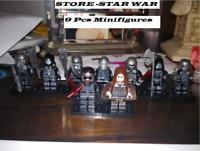 8pcs custom The Knights Of Ren Minifigures - Star War Mandalorian Baby yoda lego